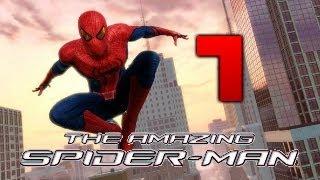 Полное Прохождение игры Новый Человек Паук - Part 1 [The Amazing Spider-Man]