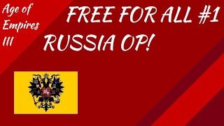 free for all 1 russia is too good aoe iii