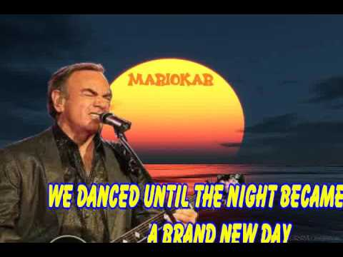 Neil Diamond September Morn karaoke