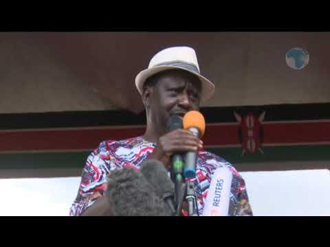 Nasa now a resistance movement, Raila Odinga says
