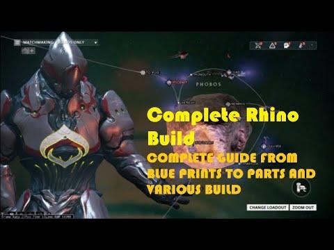 Complete Rhino Build