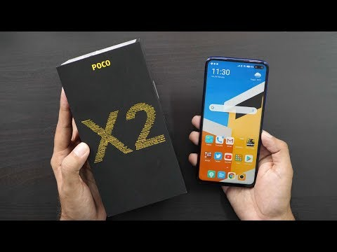 Poco X2 with 120hz Screen Unboxing & Overview (Indian Unit)