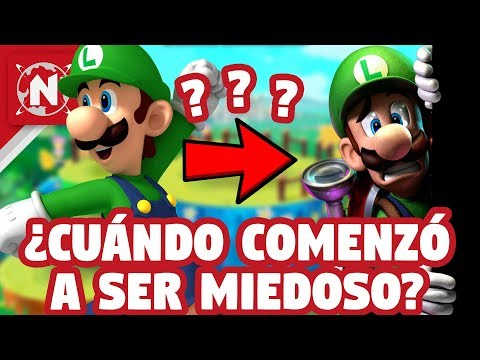 5 Secretos OFICIALES De Luigi Que NO SABÍAS Hasta AHORA