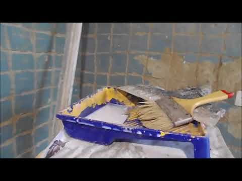 Как заделать щели в потолке между плитами видео