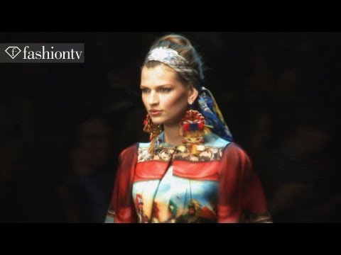 Dolce & Gabbana Spring/Summer 2013 ft Bianca Balti | Milan Fashion Week with Hofit Golan | FashionTV