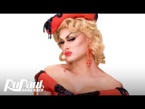 Scarlet Envy's &39;Old Hollywood Glam&39; Makeup Tutorial 💄  RuPaul&39;s Drag Race Season 11