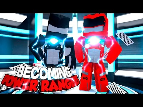 Minecraft Adventure - BECOMING THE POWER RANGERS!!