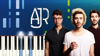 AJR - 100 Bad Days (Piano Tutorial) Video