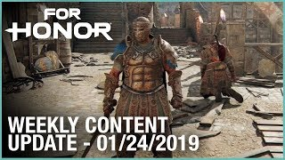 For Honor: New Executions | Week 01/24/2019 | Weekly Content Update | Ubisoft [NA]