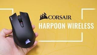 Corsair Harpoon RGB Wireless MỚI TINH: Tưởng không ngon mà ngon không tưởng!!!