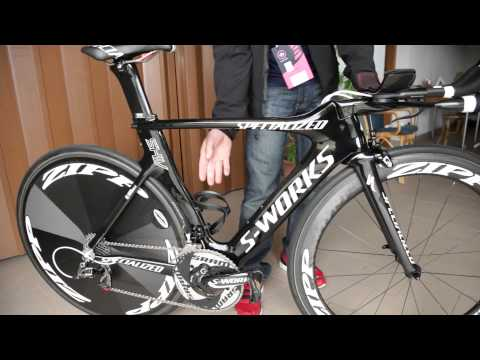 Giro d'Italia: Specialized Shiv TT bike for Omega Pharma QuickStep