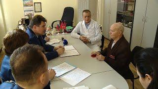 Ветераны боевых действий напрямую обратились с вопросами к прокурору Волгоградской области
