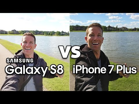 GALAXY S8 Vs IPhone 7 Plus CAMERA Test Comparison!! (4K)