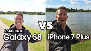 GALAXY S8 vs iPhone 7 Plus CAMERA Test Comparison!! (4K)