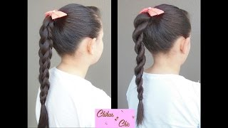 3D Braids! 2 Options! (Part 1) | Braided Hairstyles | Ponytail | Easy Hairstyles