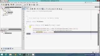 File handling in java tutorial