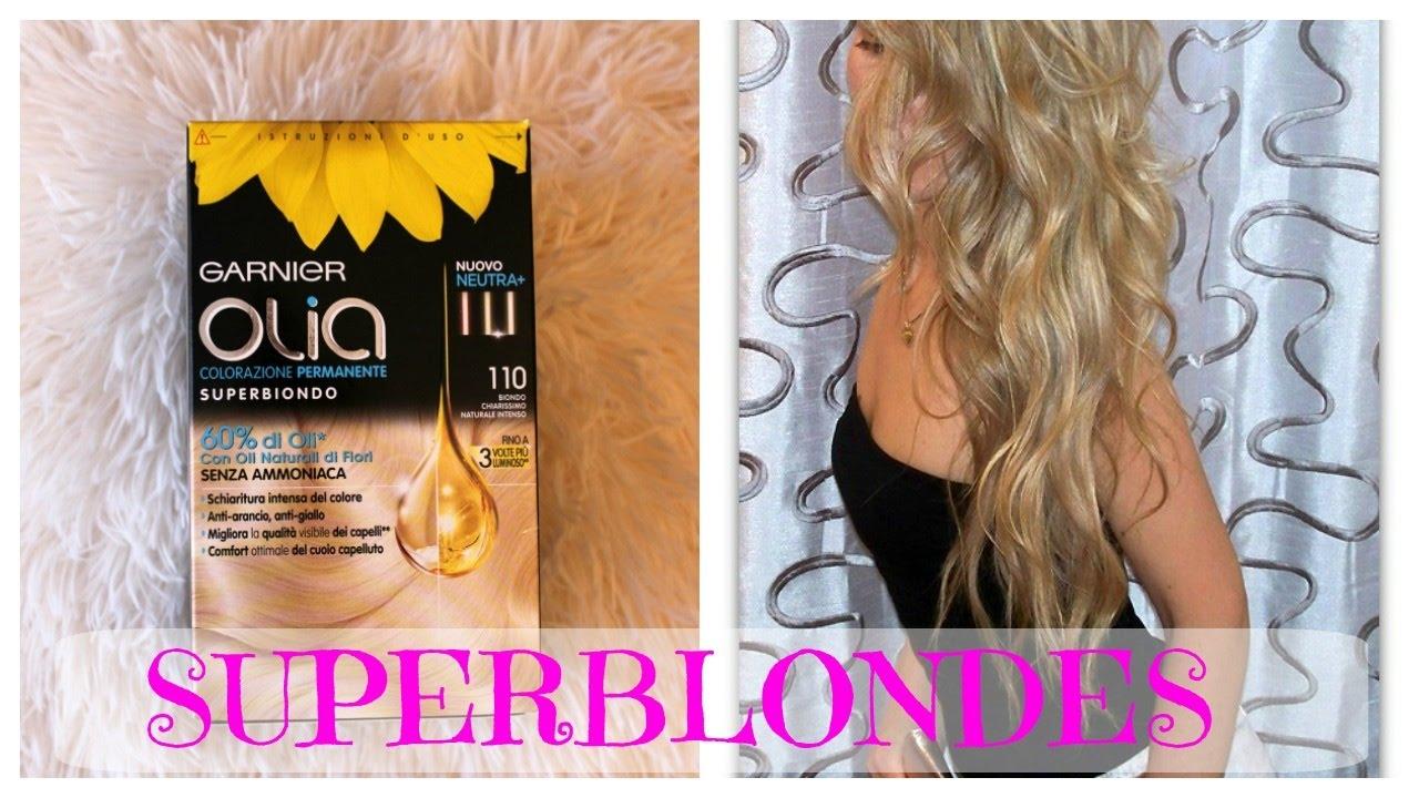 Blonde From A Box Hair Dye Garnier Olia 110 Super Blondes