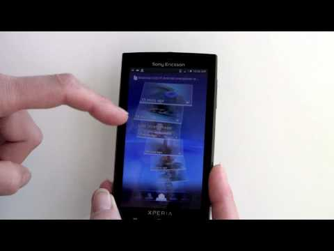 Sony Ericsson Xperia X10 Android Smartphone Video Review
