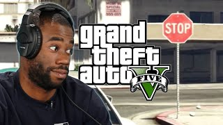 We Try Playing Grand Theft Auto 5 Without Breaking Any Laws by : BuzzFeedBlue