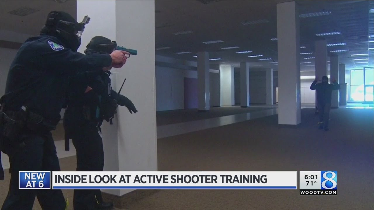 Empty store becomes active shooter training classroom ...
