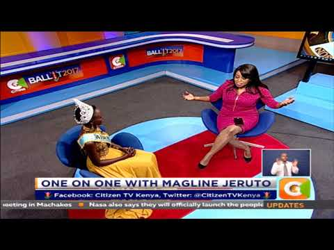 Citizen Weekend : One on One with Magline Jeruto
