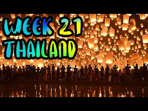 Lantern Festival, Muay Thai, and Dorothy to the EMERGENCY ROOM!! /// WEEK 21 : Chiang Mai, Thailand