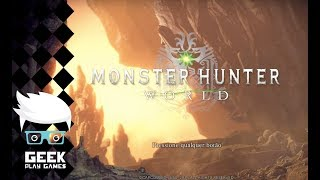 #GAMEPLAY: MONSTER HUNTER WORLD - DICAS/EXPLICACAO BASICA - ARMAS