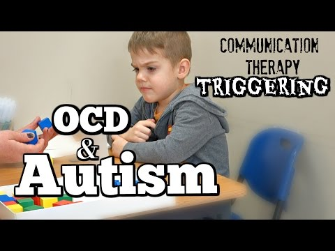 TRIGGERING HIS OCD AND AUTISM!