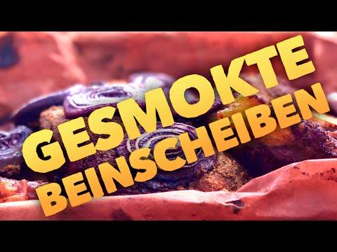 BBQ BEEF BEINSCHEIBE vom SMOKER --- Klaus grillt