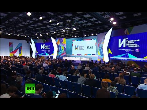 Internet is a driver for development: Putin speaks at Moscow 'Internet Economics' forum