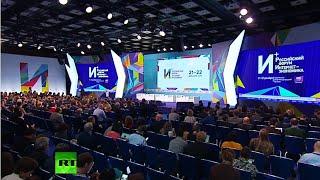 Internet is a driver for development: Putin speaks at Moscow 'Internet Economics' forum