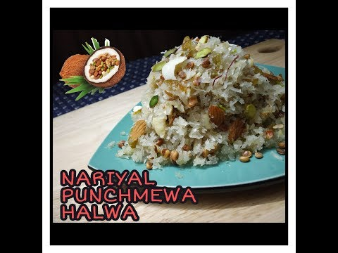 nariyal-punchmewa-halwa-||-dryfruit-halwa-||-recipes-with-gayatri