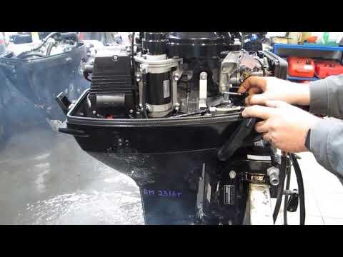 Мотор лодочный Suzuki DT40WRL, б/у