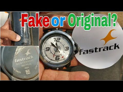 Fastrack WatCh Difference Between Fake And Original How?? |Shot By Amit
