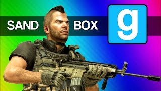 Gmod Call of Duty Modern War Fail (Garry's Mod Sandbox Funny Moments)