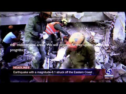 Inmarsat Live Operations Room - Disaster Response (English subtitles)