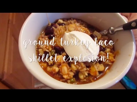 TASTY TUESDAY: (ONE DISH) TACO SKILLET | Lauren Benet