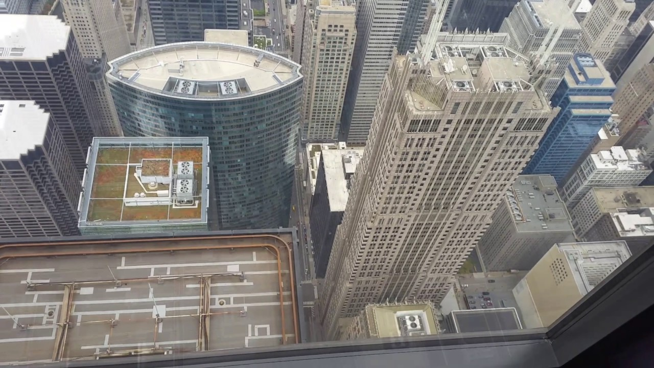 Chicago Trip Pt2 Willis Tower 99th Floor Youtube
