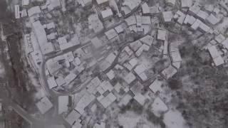 Dji Phantom 4 winter test footage, Snow test footage. Dji Phantom 4  Karda Uçar mı?