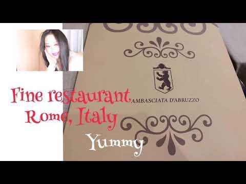 Ambasciatori D'Abruzzo, Rome, Italy.  Where To Eat By Katie