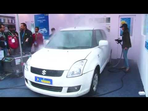 Steam Jet Car Wash Machine - Steam Jet Car Cleaning & Wax System