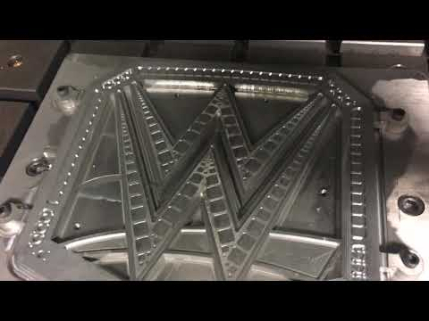 How WWE Championship Titles are Made, Orange County Choppers Machine Shop
