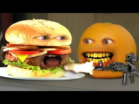 Annoying Orange - Monster Burger!
