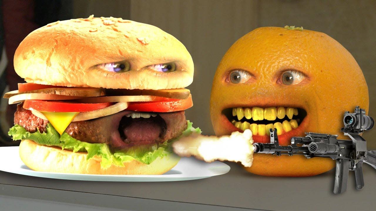Annoying Orange Monster Burger Youtube