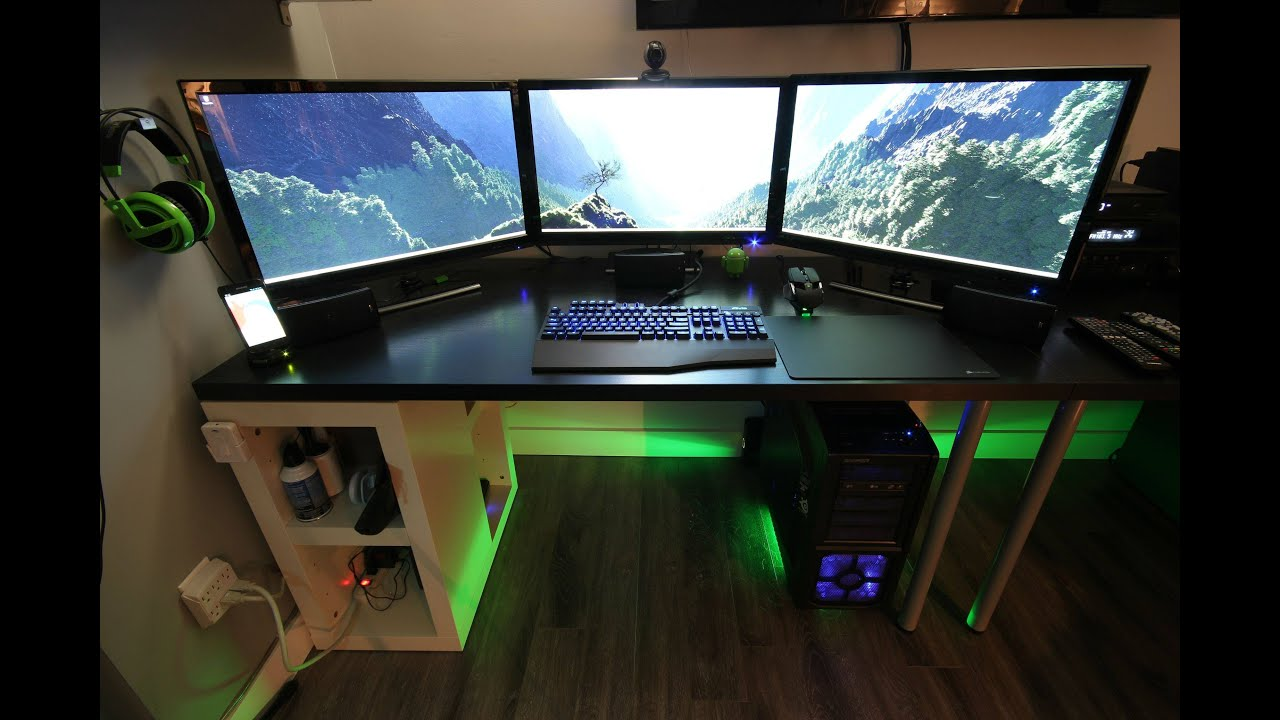 Gaming Setup the ultimate gaming setup - youtube