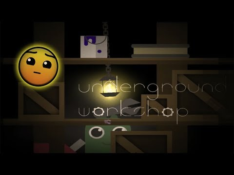 BEAUTIFUL LEVEL !!! - Underground Workshop By Knots - Geometry Dash