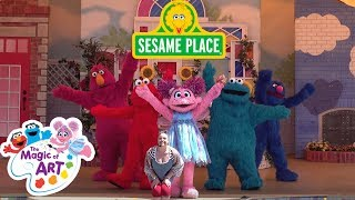 Sesame Street The Magic of Art   Sesame Place Show 2018
