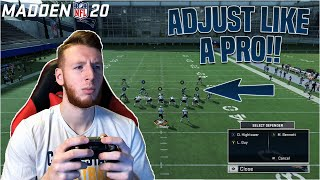 How to Quick Adjust in Madden 20 Like a Pro!!