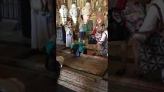 Kissing The Stone At The Church Of The Holy Sepulcher | World Culture Trip