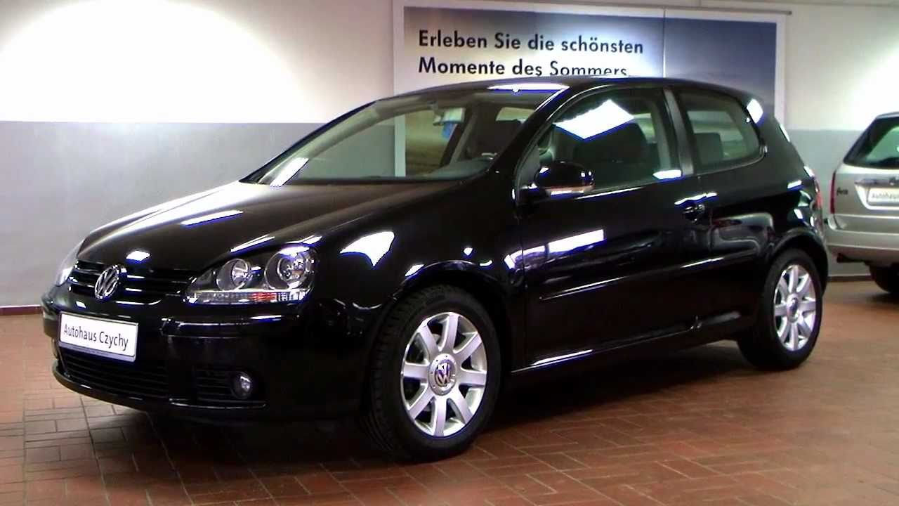 volkswagen golf v 1 6 sportline 2004 black magic perleffekt 4p063011. Black Bedroom Furniture Sets. Home Design Ideas